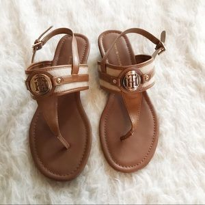 Tommy Hilfiger Strappy Sandals Size 9